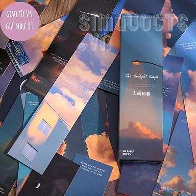 Set 30 bookmark thẻ đánh dấu sách sáng tạo ST62