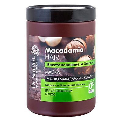 Kem Ủ Phục Hồi Và Bảo Vệ Tóc Dr. Sante Macadamia Hair (1000ml)