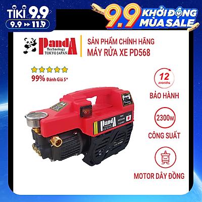 Máy rửa xe Panda PD-568, Máy xịt rửa áp lực cao