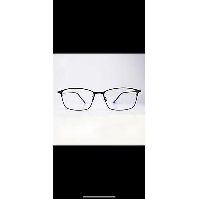 Gọng kính cận Mắt vuông Kim loại tăm Hàn Quốc