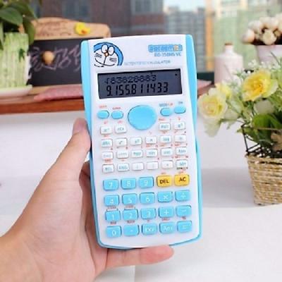 Máy tính cầm tay Doremon DD-350 (GiỐNG FX 500) dùng cho học sinh+ Tặng kèm pin