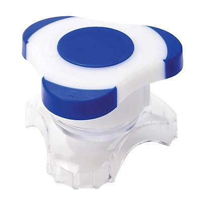 Travel Size Pill Crusher Grinder Crush Grind Powder Box Cutter Plastic