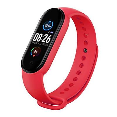 Vòng Đeo Tay Thông Minh M5 Chống Nước Kết Nối Bluetooth Theo Dõi Sức Khỏe Kèm Phụ Kiện- Hàng Chính Hãng