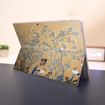 Skin dán hình Tranh thủy mặc x03 cho Surface Go, Pro 2, Pro 3, Pro 4, Pro 5, Pro 6, Pro 7, Pro X