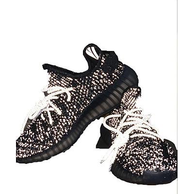 Giày Sneaker Unisex Full Phản Quang Màu Đen, Phiên Bản Trời Đầy Sao
