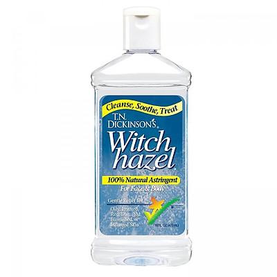 Nước hoa hồng T.N. DICKINSON'S Witch Hazel Astringent 473ml (Dành cho da kích ứng, da nhạy cảm)
