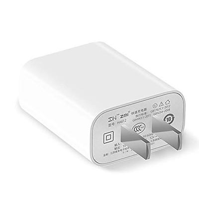 Adapter Sạc 1 Cổng 18W Xiaomi ZMI HA612 Hỗ Trợ Sạc Nhanh QC 3.0- Hàng Chính Hãng