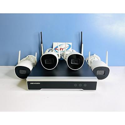 Bộ Kit camera IP Wifi HIKVISION NK42W0H (4 camera)- Hàng Chính Hãng