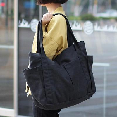 Túi vải thời trang tote đựng đồ quần áo thời trang