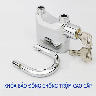 Ổ khóa chống trộm xe máy,Ổ khóa báo động chống trộm CT02 – Âm vang báo động lên tới 110dB