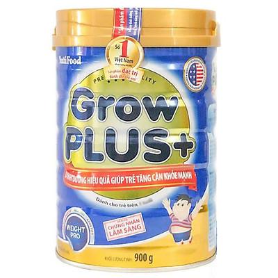 Sữa Nutifood  Grow Plus+ xanh 900G – Tăng cân khỏe mạnh cho trẻ thiếu cân còi cọc từ 1 tuổi trở lên