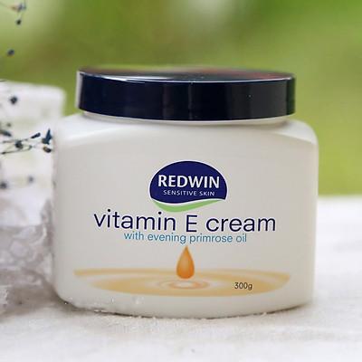 Kem Dưỡng Redwin Vitamin E Làm Mềm Mịn & Cấp Ẩm Cho Da Mặt và Body 300g & 400ml - Úc