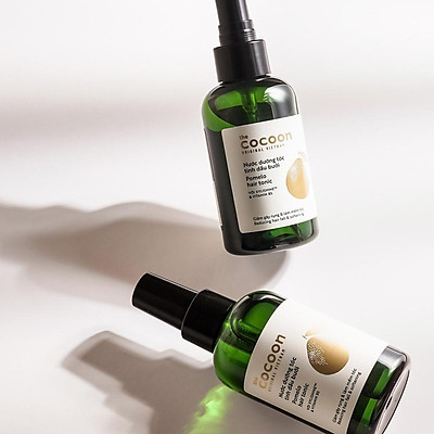 Nước dưỡng tóc tinh dầu bưởi COCOON Pomelo Hair Tonic 140ml COCN06