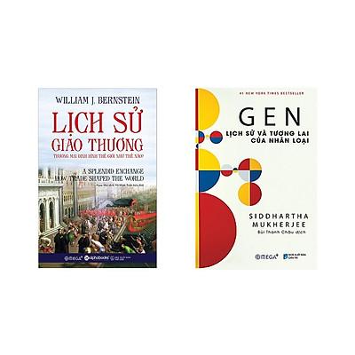 Combo Sách Lịch Sử Hay: Gen Lịch Sử Và Tương Lai Của Nhân Loại + Lịch Sử Giao Thương