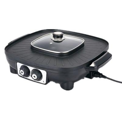 Bếp lẩu nướng điện đa năng 2 trong 1 LZW-1606