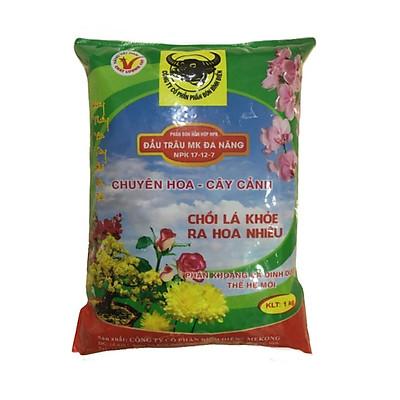 Phân đầu trâu đa năng NPK 17-12-7 đa năng chuyên hoa - cây cảnh giúp chồi khỏe - hoa nhiều phù hợp mọi giai đoạn cây trồng