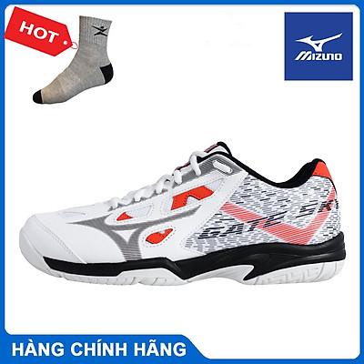 Giày cầu lông Mizuno Gate Sky Plus 71GA204 Full màu chính hãng, êm chân, hỗ trợ vận động tốt - Tặng tất thể thao Bendu