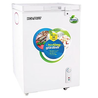 Tủ đông mini Hòa Phát 107 lít HCF-106S1Đ ĐỒNG (R600A)