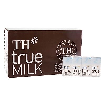 Thùng Sữa tươi tiệt trùng Sô cô la TH True Milk (180ml x 48 hộp)