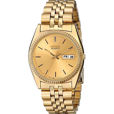 Đồng hồ Seiko nam SGF206 thép không gỉ tông màu vàng