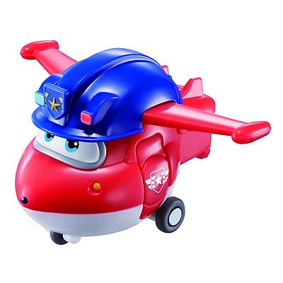 Đồ Chơi Robot Biến Hình Mini Jett Cảnh Sát Superwings YW730031
