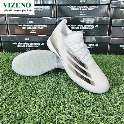 Giày đá bóng, giày đá banh nam đinh ngắn sân nhân tạo X20.1 TF màu trắng xám - OEM
