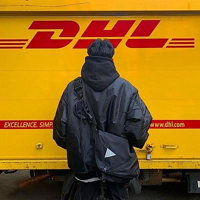 Túi StreetWear phong cách DHL - Sẵn hàng