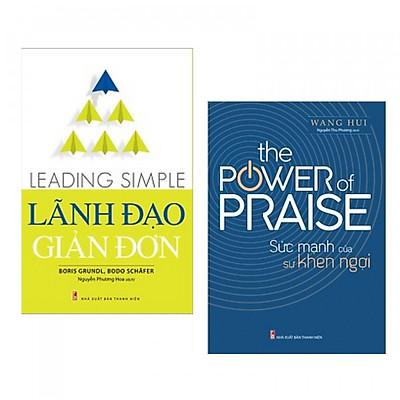 Combo sách lãnh đạo tuyệt hay: Leading simple- Lãnh đạo giản đơn+ The power of praise - Sức mạnh của sự khen ngợi- Tặng kèm Postcard Greenlife