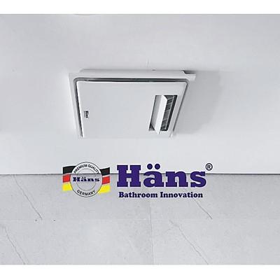 Quạt mát âm trần Hans H10S-công tắc- hàng chính hãng