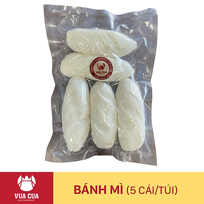 Bánh mì tươi đặc ruột - 5 ổ/ gói