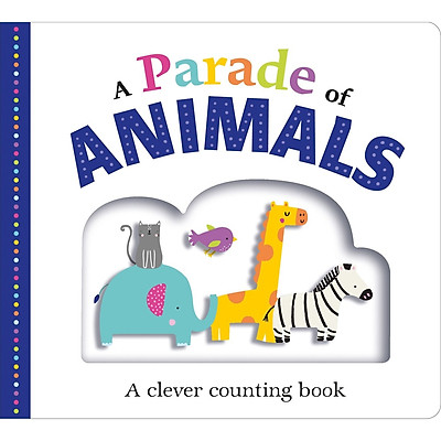 Picture Fit Board Books: A Parade of Animals