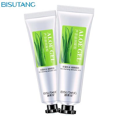Bisutang Aloe Vera Gel Repair Anti-Acne Mark Moisturizing Gel Phục hồi dưỡng ẩm cho lỗ chân lông Sản phẩm chăm sóc da