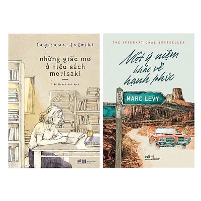 Combo Tiểu Thuyết Hay Nhất : NHững Giấc Mơ Ở Hiệu Sách Morisaki + Một Ý Niệm Về Hạnh Phúc ( Tặng Bookmark Love Life)