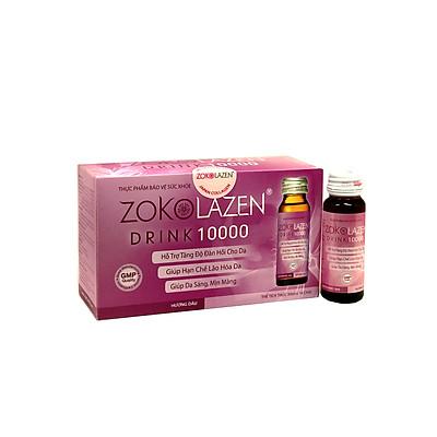 Thực phẩm bảo vệ sức khỏe nước uống collagen ZOKOLAZEN 10.000 mg (hộp 10 chai)