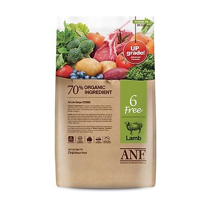 Thức ăn hạt cho chó lớn hơn 6 tháng tuổi ANF 6 Free Organic vị Cừu