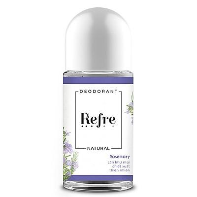 Lăn khử mùi chiết xuất thiên nhiên Refre Natural 40ml