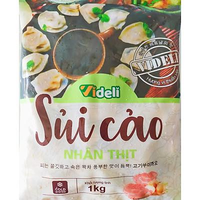 Sủi Cảo Nhân Thịt  videli - 1kg/gói