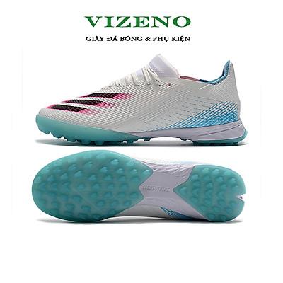 Giày đá bóng, giày đá banh sân nhân tạo X20. 3 TF màu trắng xanh - OEM
