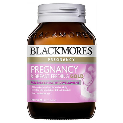 Blackmores Pregnancy and Breastfeeding Gold 60 Capsules