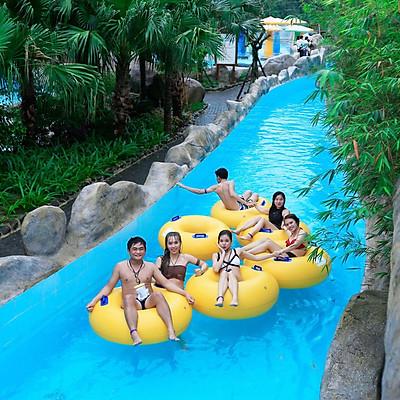 Vé công viên Suối khoáng nóng Núi Thần Tài Đà Nẵng (Vé trẻ em)