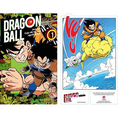 Dragon Ball Full Color - Phần Ba: Cuộc Đổ Bộ Của Người Saiya - Tập 1 [Tặng Kèm Bookmark Pvc]