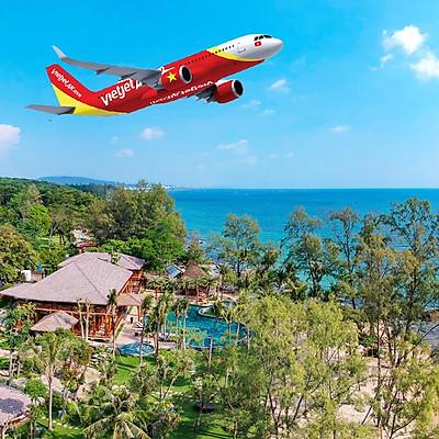 Combo 3N2Đ Ocean Bay Resort 5* Phú Quốc + Vé Máy Bay, Buffet Sáng, Đón Tiễn Sân Bay, Tham Quan Grand World Trong Quần Thể Vinpearl Phú Quốc, Khởi Hành Thứ 6 Hàng Tuần, Giờ Bay Đẹp
