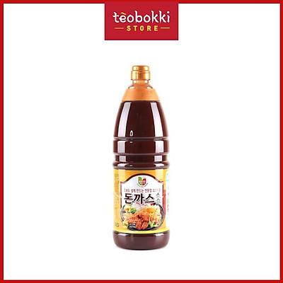 Nước sốt thịt chiên xù (tonkatsu) Chungwoo 1.9kg (chai)