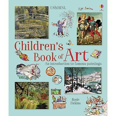 Sách tiếng Anh - Usborne Children's Book of Art