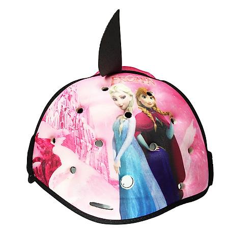 Mũ Bảo Vệ Đầu Cho Bé Headguard Elsa Hồng 2