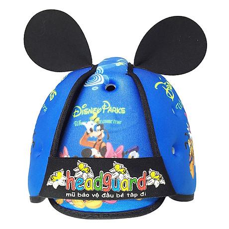 Mũ Bảo Vệ Đầu Cho Bé Headguard Disney Xanh 1