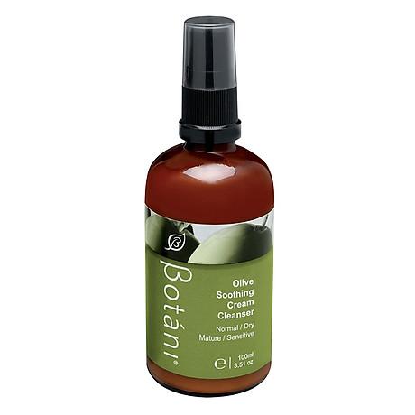 Sữa Rửa Mặt Olive Và Tẩy Trang Vùng Mắt Botani Olive Soothing Cleanser BPSO002 (100ml) 1