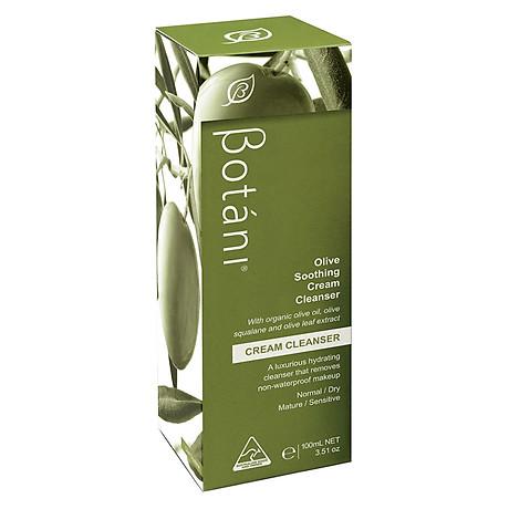 Sữa Rửa Mặt Olive Và Tẩy Trang Vùng Mắt Botani Olive Soothing Cleanser BPSO002 (100ml) 2