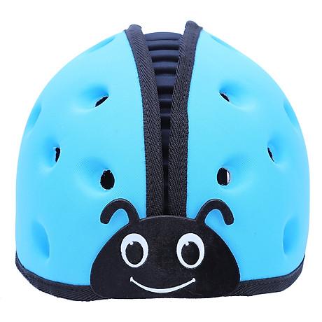 Mũ Bảo Vệ Đầu Cho Bé Mumguard Hình Bọ Cánh Cam - Xanh 1
