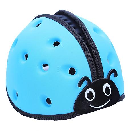 Mũ Bảo Vệ Đầu Cho Bé Mumguard Hình Bọ Cánh Cam - Xanh 2